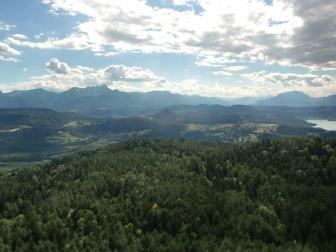 Blick Richtung Julische Alpen.