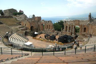 Das antike Theater in Taormina. Die schönste Konzert-Arena der Welt.