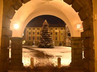 Wintergruß aus Klagenfurt
